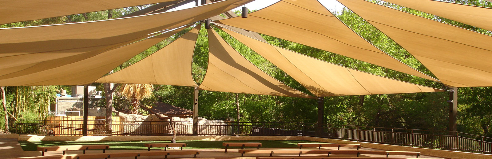 Shade Structure at Zoo