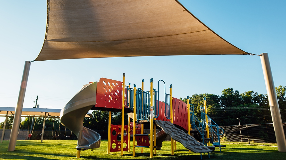shade sail for playground