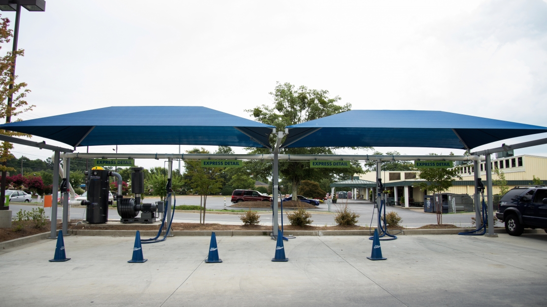Vehicle Detail Canopy