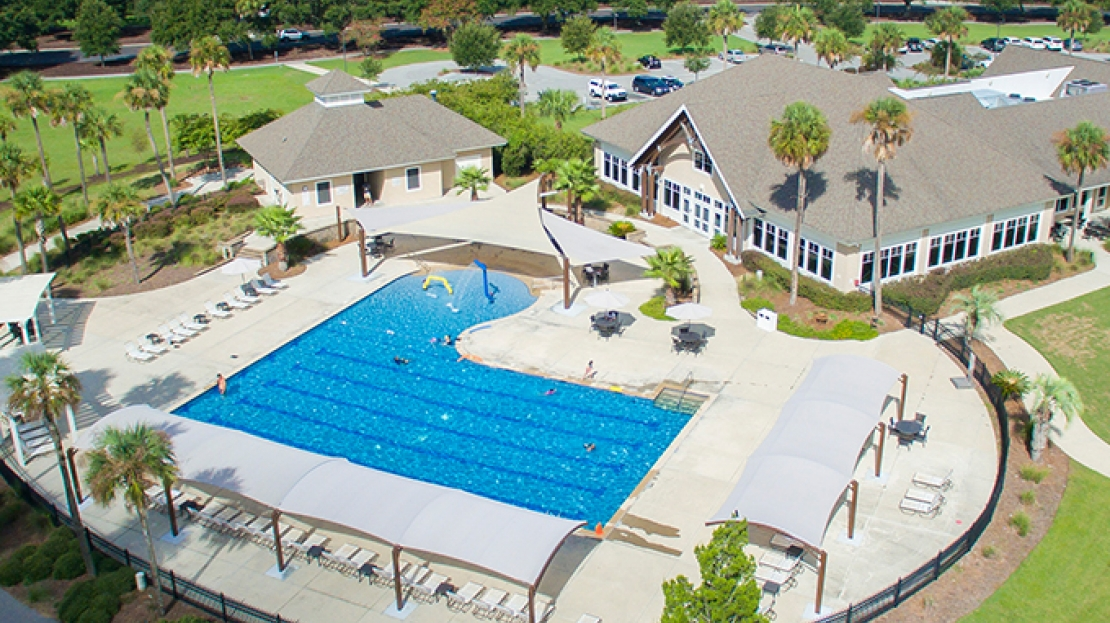 Seabrook Island Beach Club Pool Shade Project