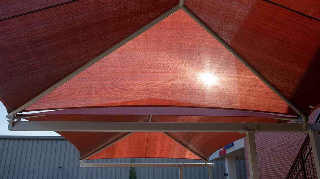 cantilever shade canopies