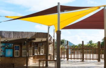 Zoo Shade Structures Outdoor Sun Shields For Sale