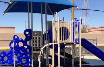 Small Playground with Shade