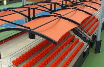 cantilever shade for stadium seating